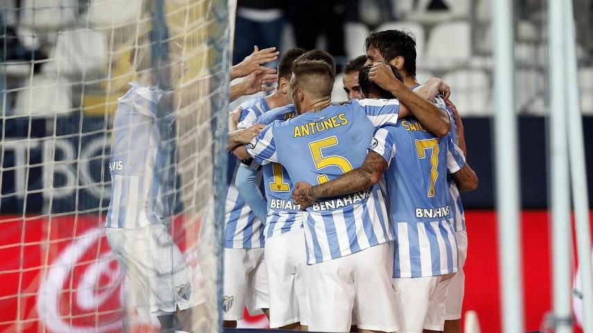 El Málaga mira a Europa