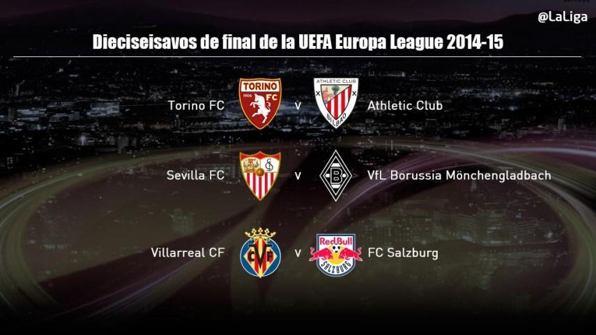 Los equipos españoles ya conocen a sus rivales en la UEFA Europa League