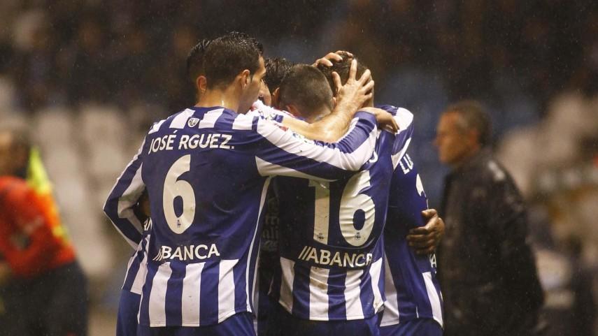 Triunfo balsámico para el Deportivo