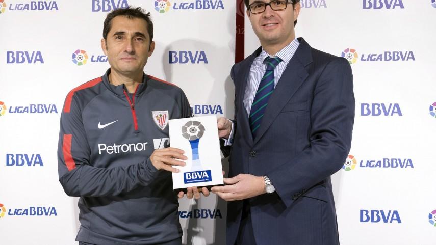 Premios BBVA: Valverde mejor entrenador de la Liga BBVA en noviembre
