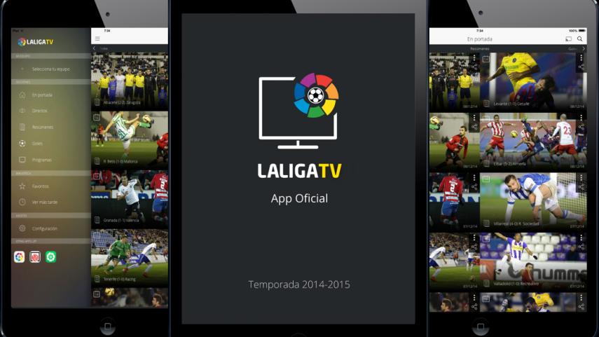La Liga TV, incluida entre lo mejor de 2014 en Apple Store