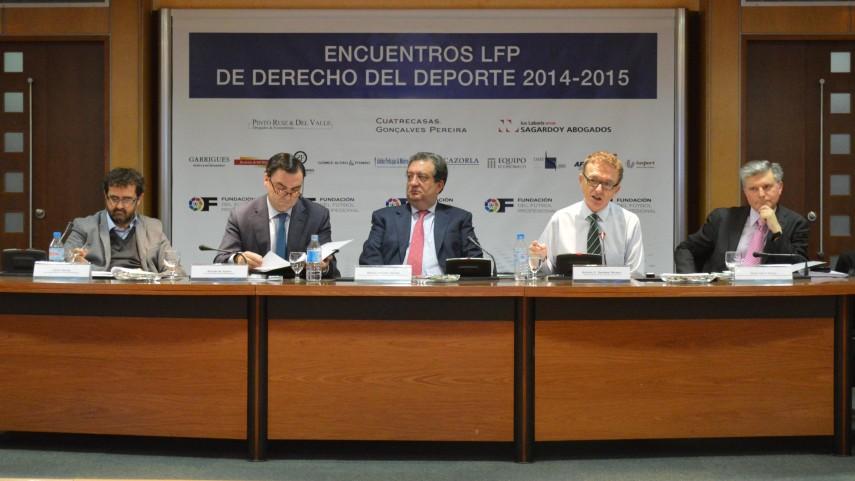 V Encuentro LFP de Derecho y Deporte