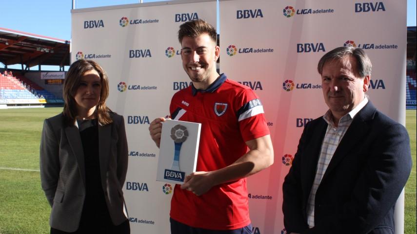 Premios BBVA: Sergi Enrich, mejor jugador de la Liga Adelante en noviembre