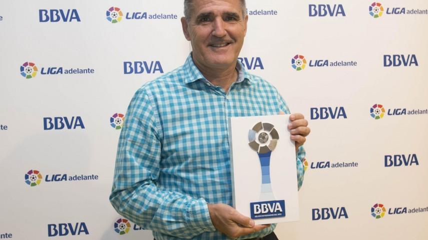Premios BBVA: Paco Herrera, mejor entrenador de la Liga Adelante en noviembre