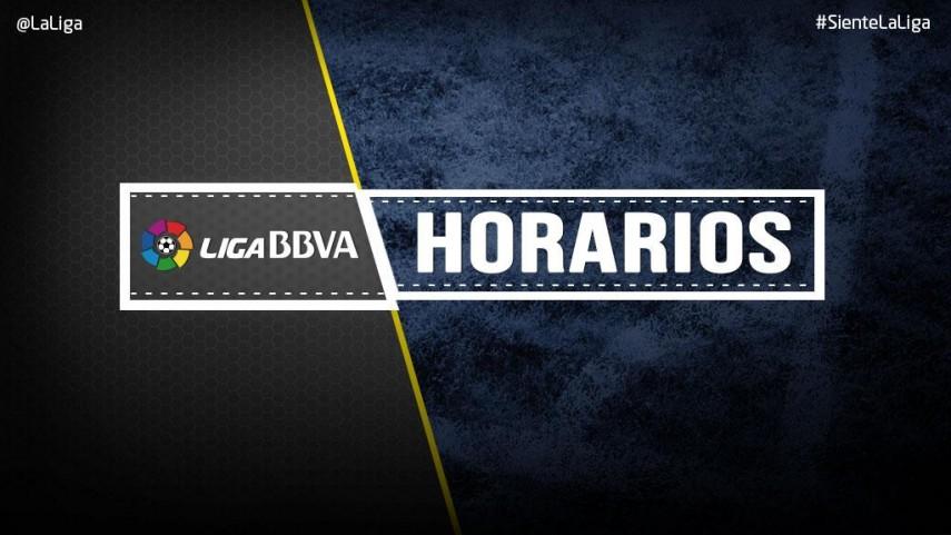 Horarios jornadas 19 y 20 de la Liga BBVA