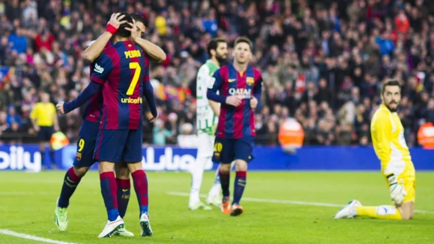 Cómoda goleada del Barcelona