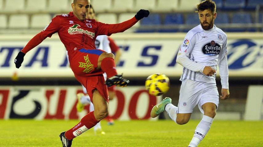 Numancia y Lugo empatan un partido histórico