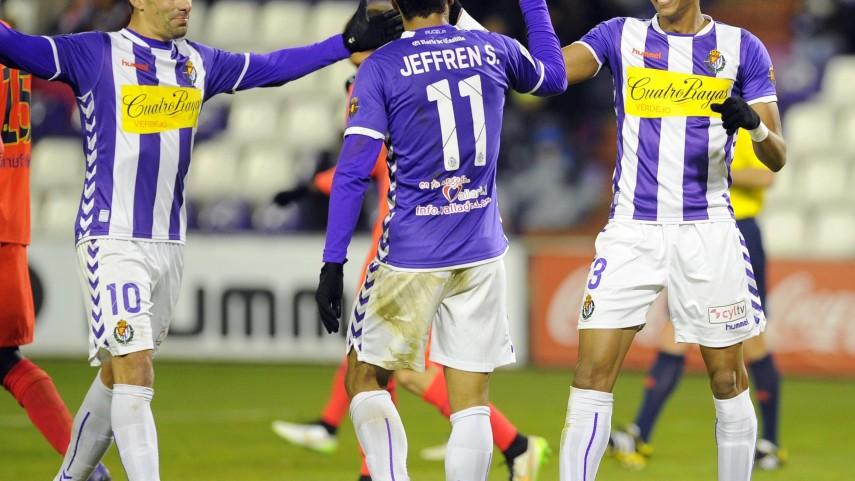 El Valladolid golea al Barcelona B