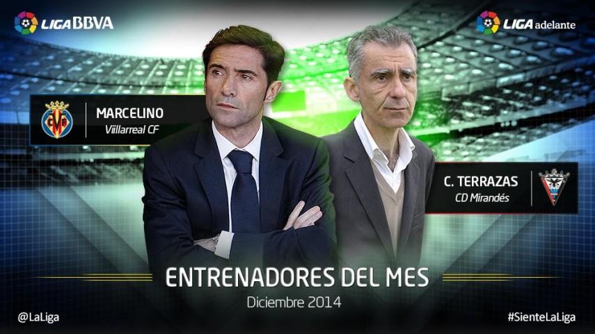 Marcelino y Terrazas, los mejores para la redacción LFP.es