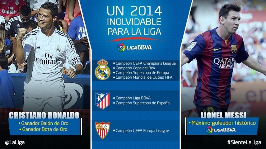 Un 2014 inolvidable para La Liga
