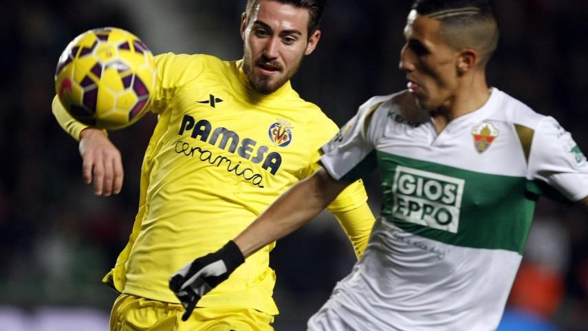 El Elche reacciona a tiempo y frena al Villarreal