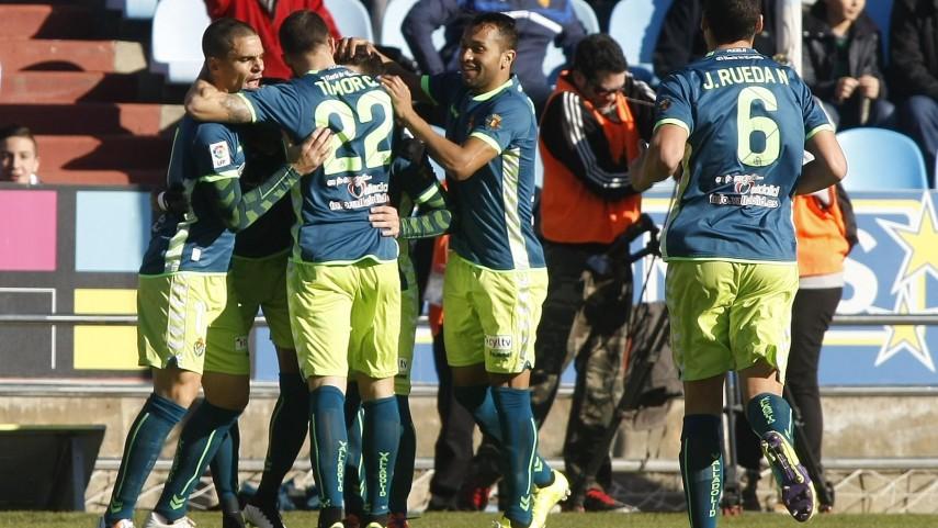Óscar y el Valladolid conquistan La Romareda