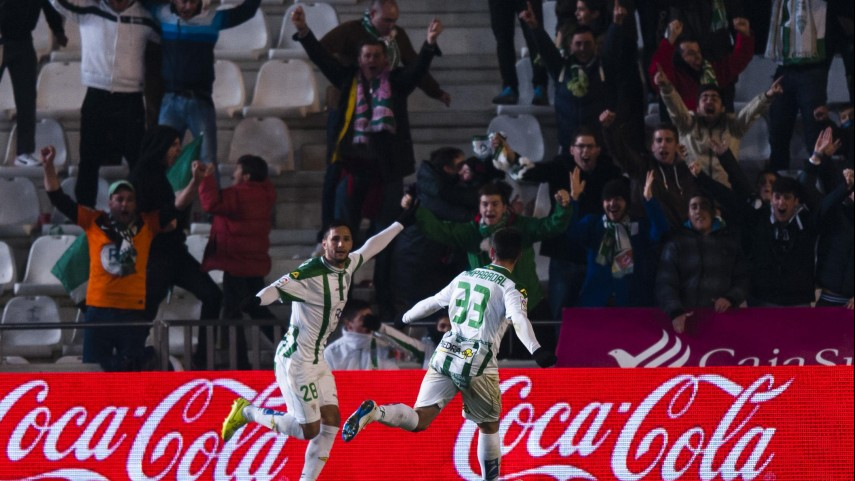 Primera victoria del Córdoba en el Nuevo Arcángel