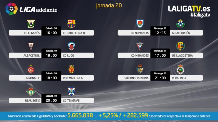 La Liga TV, la mejor compañía para el fin de semana