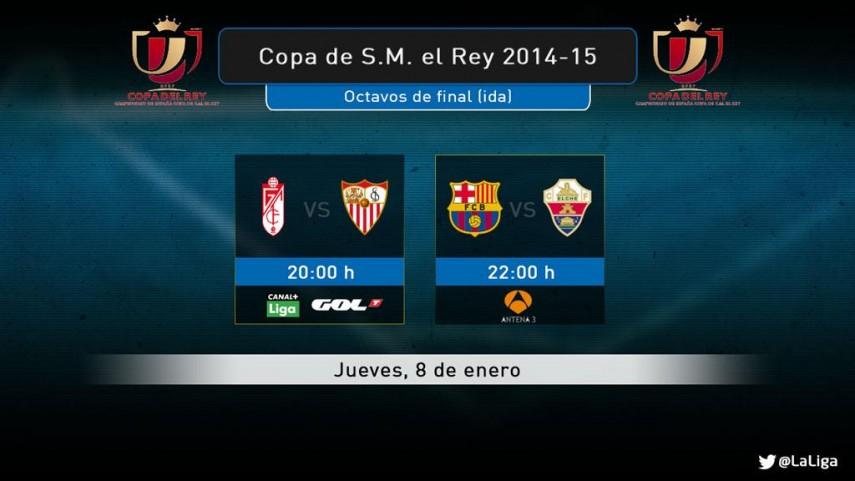 Disfruta del jueves con la Copa del Rey