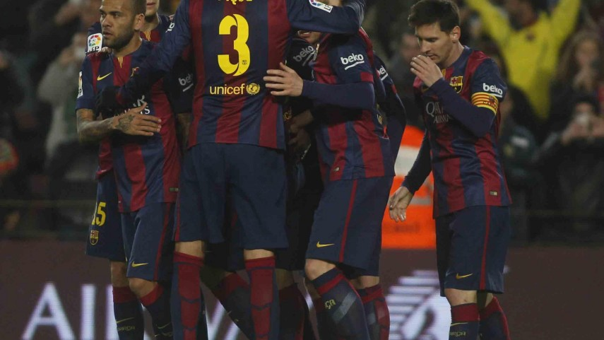 FC Barcelona y Sevilla avanzan en la Copa del Rey
