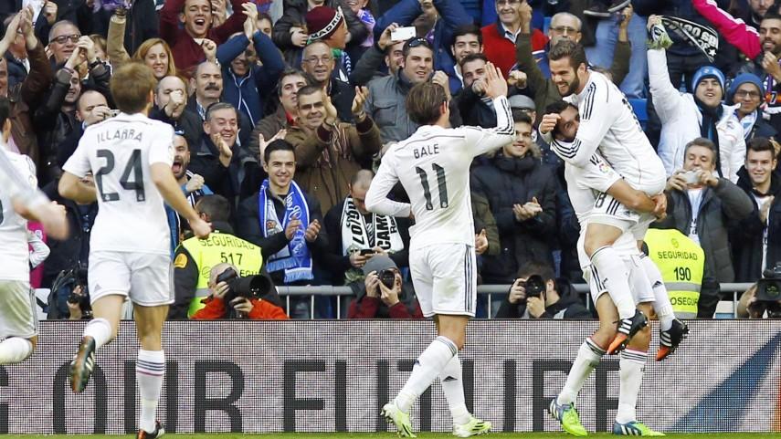 El Real Madrid se reencuentra con la victoria