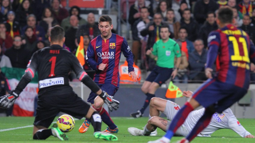 Neymar, Messi y Suárez dictan sentencia