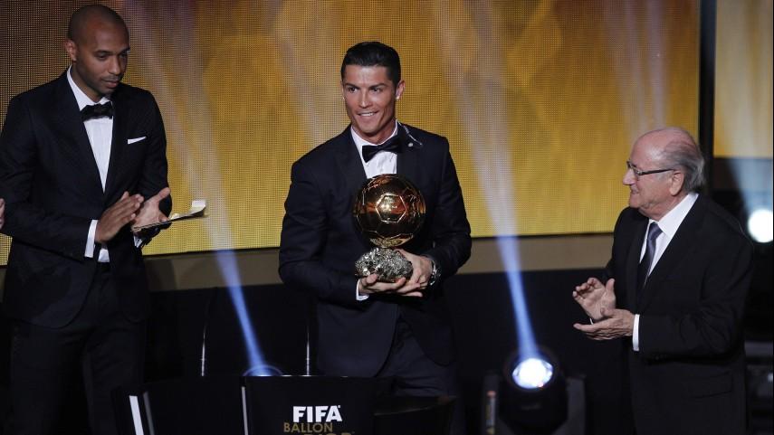 Cristiano Ronaldo conquista su tercer Ballon d'Or