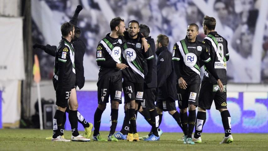 El Córdoba coge aire en la Liga BBVA