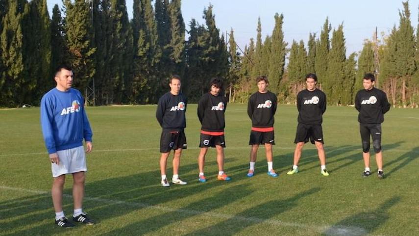 Arranca la X Sesión AFE para futbolistas sin equipo