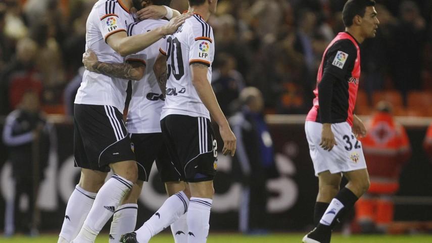 Negredo da vida al Valencia