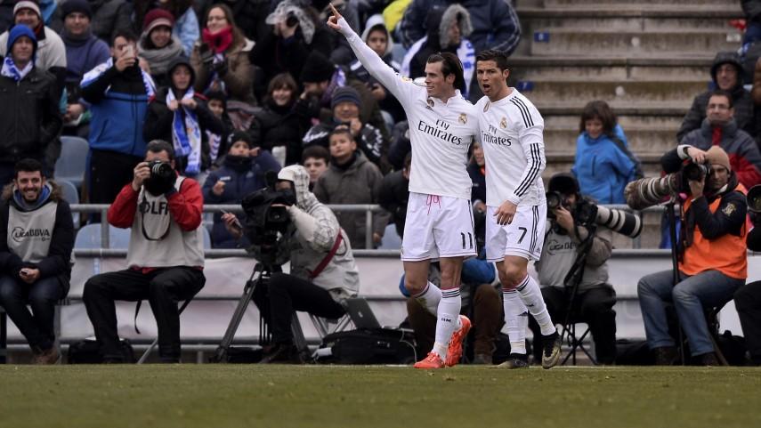 Cristiano y Bale deciden en Getafe