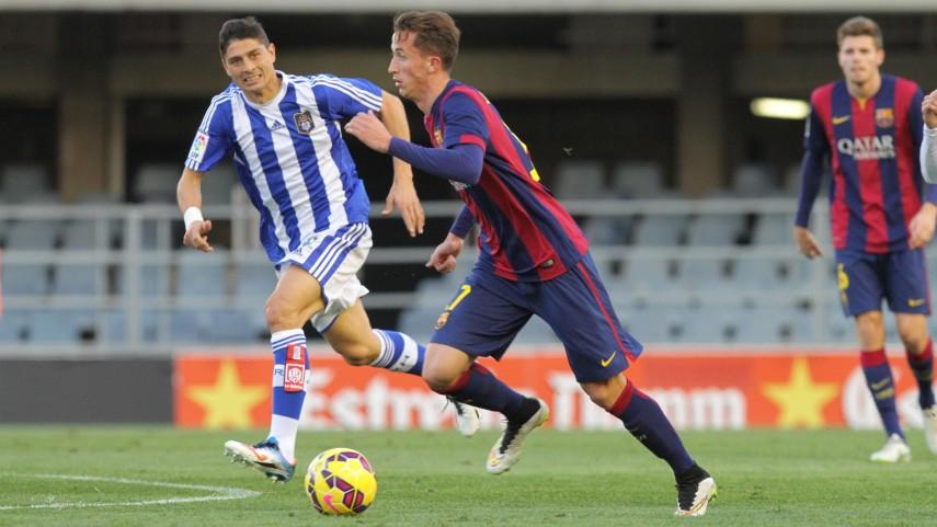 El FC Barcelona B toma aire