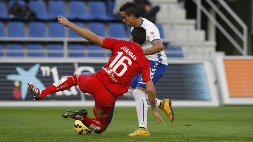Choque sin goles entre Tenerife y Numancia