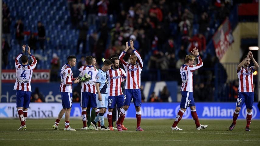 El Atlético arranca la segunda vuelta con victoria