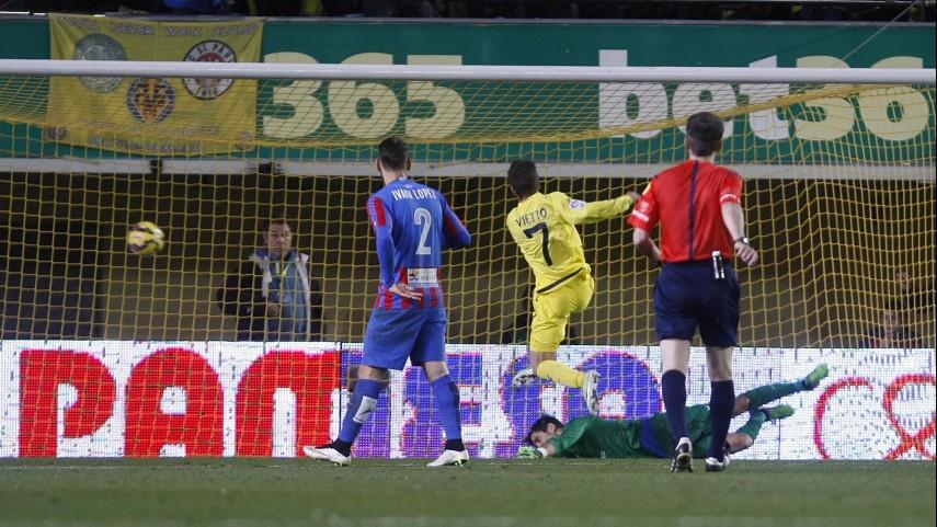 El Villarreal sigue brillando bajo el mando de Vietto