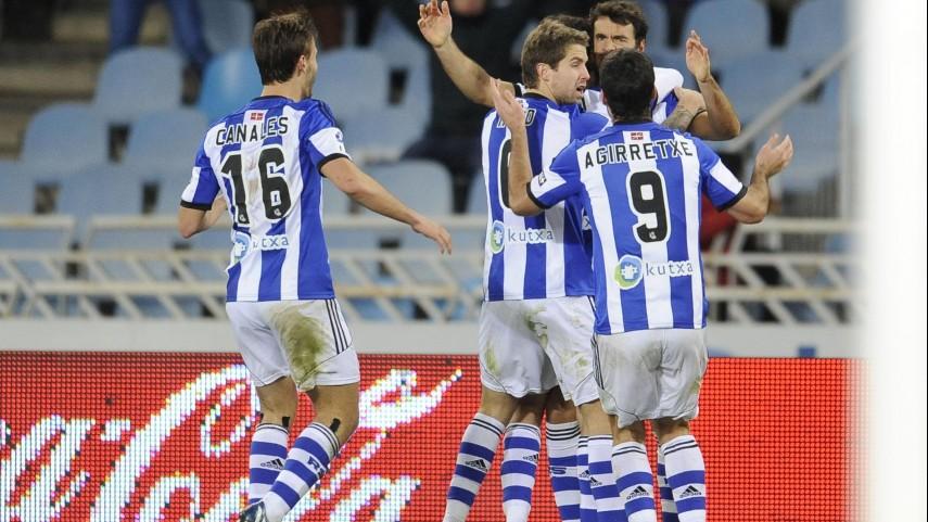 La Real Sociedad se lleva el derbi ante el Eibar