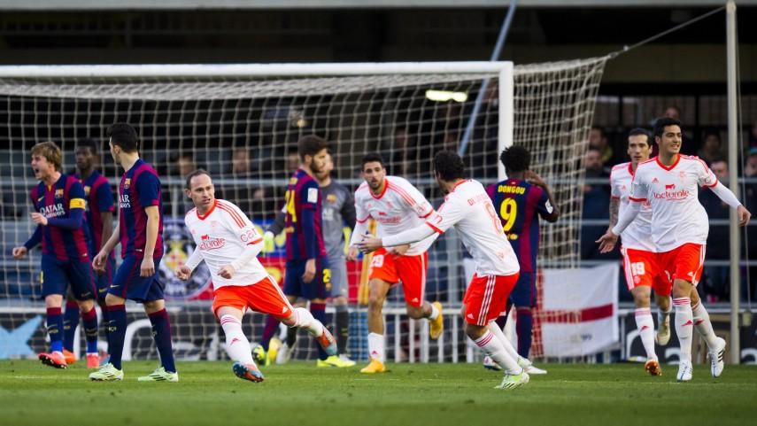 La estrategia de Osasuna tumba al FC Barcelona B