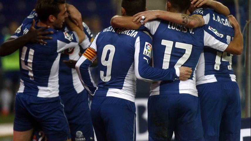 Stuani comanda una nueva victoria del Espanyol