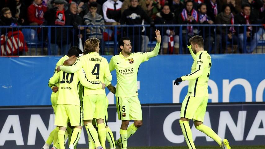 El Barcelona, primer semifinalista de la Copa