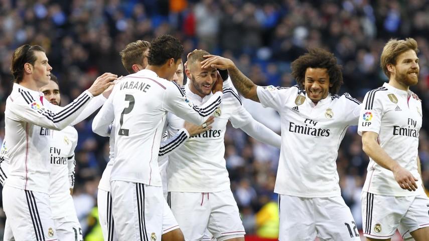 Remontada y victoria del Real Madrid