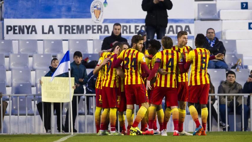 El Barcelona B se redime en la Nova Creu Alta