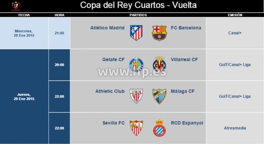 Emejing Cuartos Final Copa Del Rey Ideas - Casas: Ideas, imágenes y ...