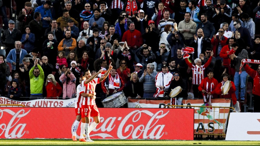 Edgar impulsa al Almería