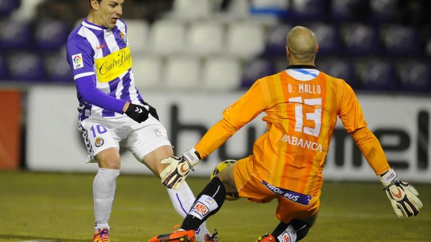 Dani Mallo frustra al Valladolid