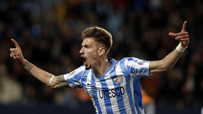Samu Castillejo devuelve la confianza al Málaga