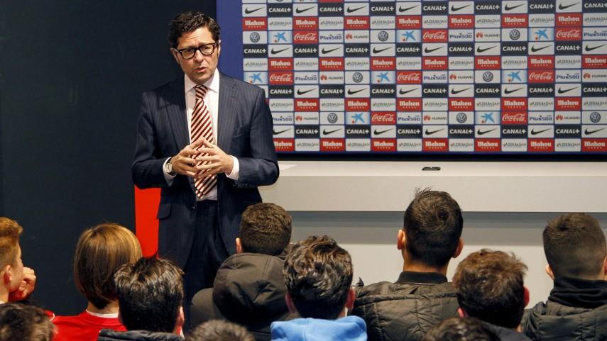 El Atlético recibe el Taller de Integridad de la LFP