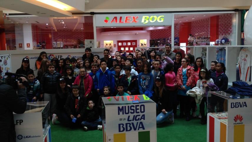 El 'Museo de La Liga' continúa su andadura en A Coruña