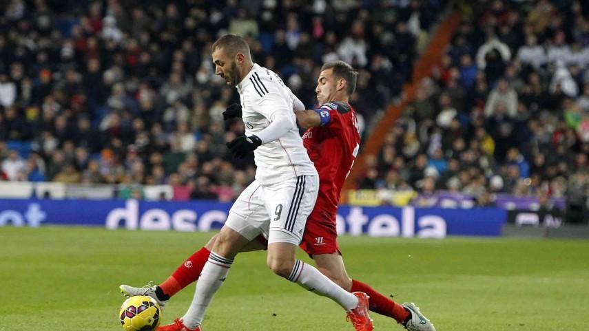 El Sevilla se va del Bernabéu sin recompensa