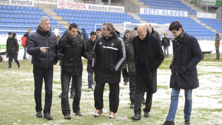 El Alavés - Osasuna se celebrará el miércoles 18 de marzo