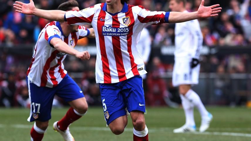 El Atlético se impone en el derbi madrileño