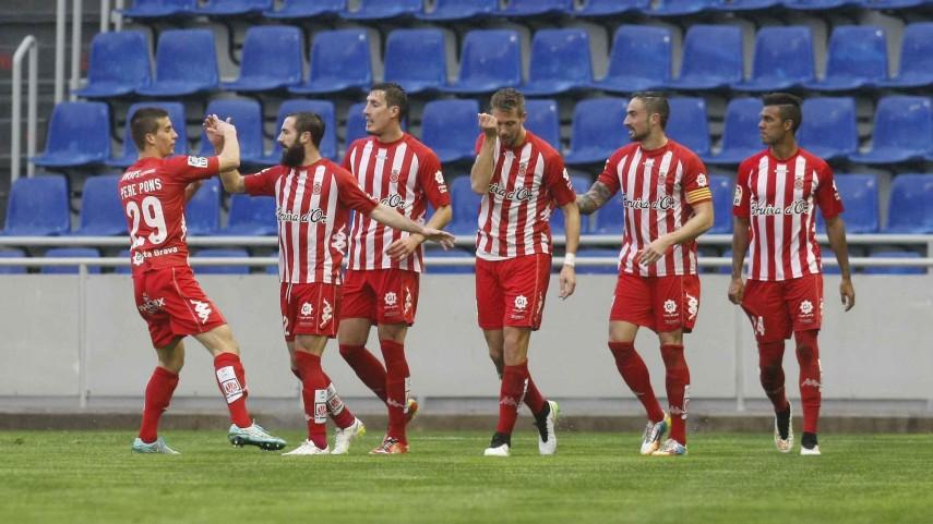 El Girona no cede terreno