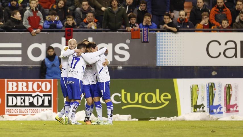 El Zaragoza continúa su idilio con la victoria