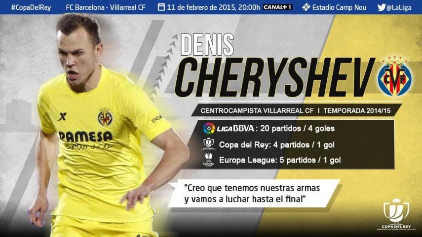 Cheryshev:
