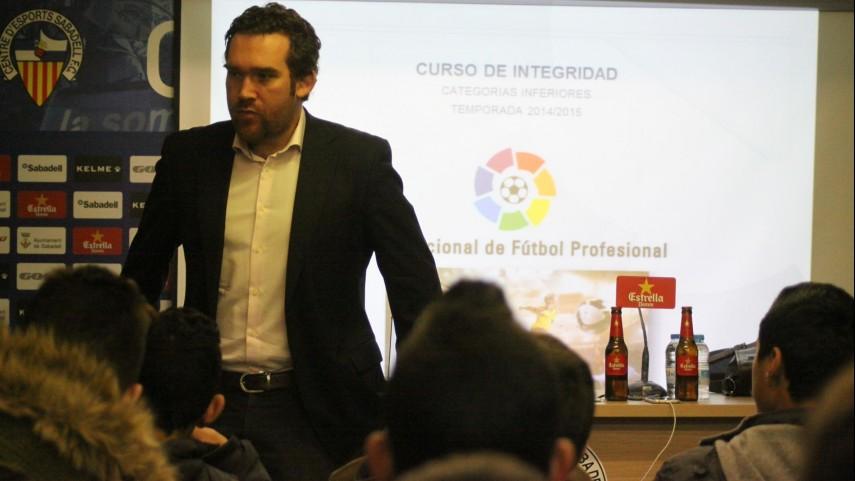 El Taller de Integridad de la LFP visita Sabadell